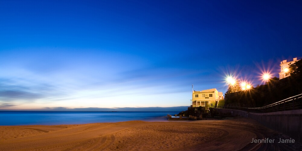 Coogee Surf Club Very Early Dawn by Jennifer  Jamie