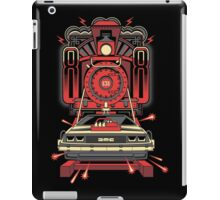 BTTF Back To The Future III Time Machine Delorean with Train iPad Case/Skin