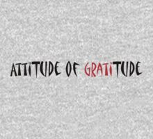 AttiTude of GratiTude by vanhagen