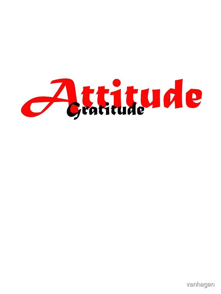 atttitude by vanhagen