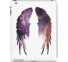 Angel Pink Galaxy Wings iPad Case/Skin