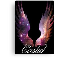 Castiel Galaxy Pink Canvas Print