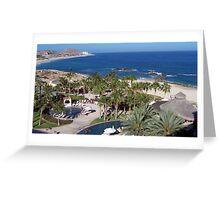 Cabo Beach Greeting Card