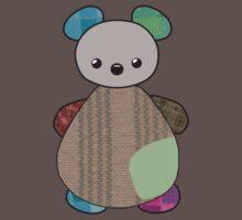 Patchwork Teddy by HaRaKiRi