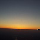 Sunset From the Plane by Angeleyes117