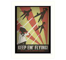 Strikers: Keep Em' Flying Art Print