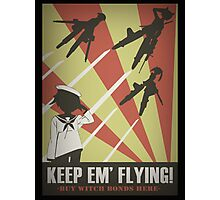 Strikers: Keep Em' Flying Photographic Print