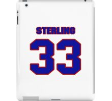National football player John Sterling jersey 33 iPad Case/Skin