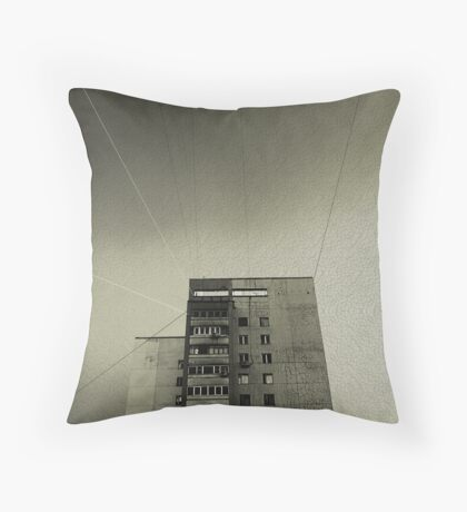 Shipwrecked on a Dry Land Throw Pillow