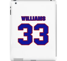 National football player Cadillac Williams jersey 33 iPad Case/Skin