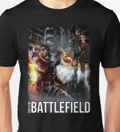 THIS IS MY BATTLEFIELD  Unisex T-Shirt