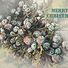 "All Spruced Up ""Merry Christmas"" ~ Greeting Card by Susan Werby"