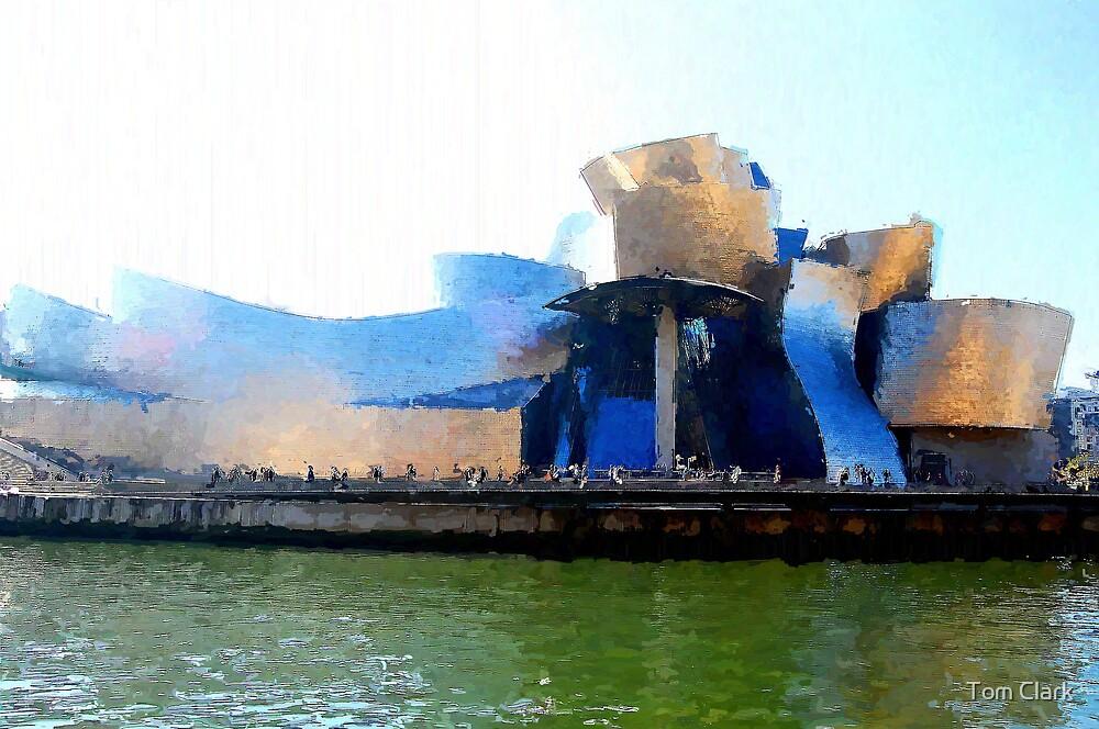 Guggenheim - Bilbao #1 by Tom Clark