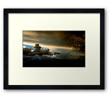 Thor's angry! Framed Print