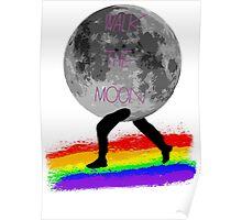 Walk The Moon Rainbow Road Poster