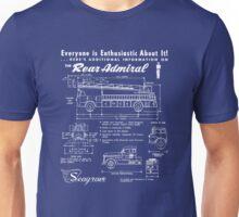 Seagrave Rear Admiral blueprint Unisex T-Shirt