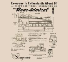 Seagrave Rear Admiral ad T-Shirt
