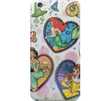 Disney Princesses :) iPhone Case/Skin