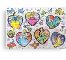 Disney Princesses :) Metal Print