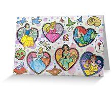 Disney Princesses :) Greeting Card