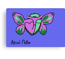Atrial Flutter Canvas Print
