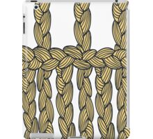pigtail ornament iPad Case/Skin