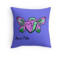 Atrial Flutter Throw Pillow
