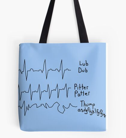 A Study in EKG Interpretation Tote Bag