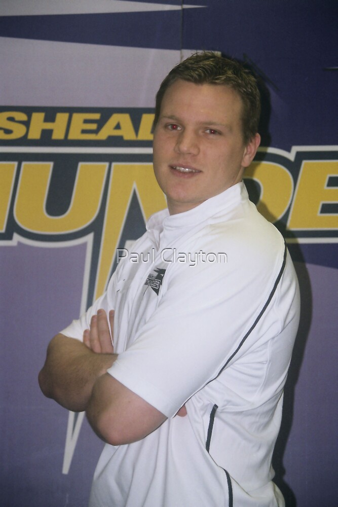 Gateshead Thunder 2007 - Steve Rutherford by Paul Clayton