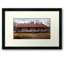 The Old Rooming House Framed Print