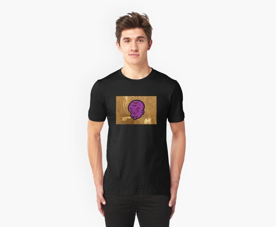 purple-yellow chump by jonkox
