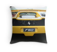 F50 Throw Pillow