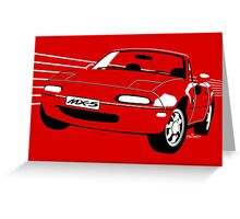 Mazda MX5 Miata Greeting Card