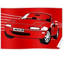 Mazda MX5 Miata Poster