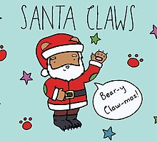 Santa Claws and Bear-y Claw-mas! by RedPandonite