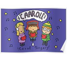Carol Singers Poster