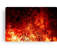 Born from the fires of Mount Doom... Canvas Print