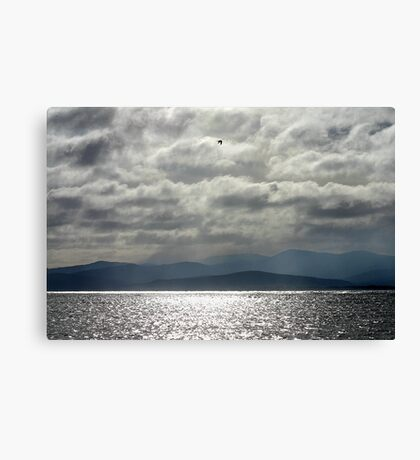 Hawley Beach storm Canvas Print