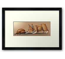Thanksgiving  Thief Framed Print