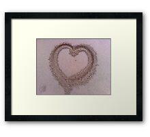 Mon Coeur Framed Print