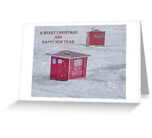 Lure of the Fish Christmas Card Greeting Card