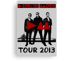Depeche Mode : Tour 2013 Poster Canvas Print