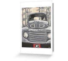 GA Truck Greeting Card