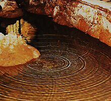 THE RIPPLE EFFECT.............Yarrangobilly Caves. by Cheryl Hall