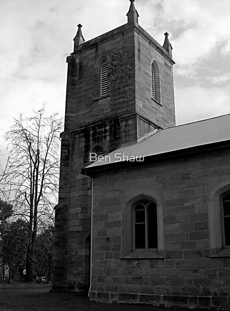 Historic St Thomas church at Mulgoa NSW Australia by Ben Shaw