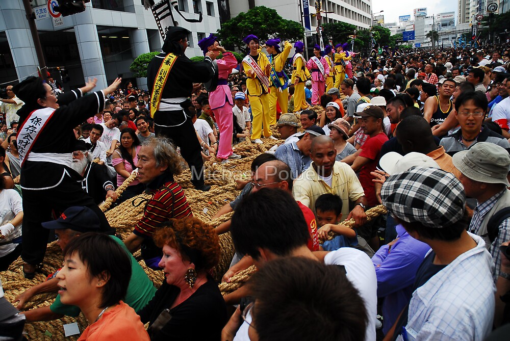 World's Largest Tug-of-War (Naha Festival 2007) by Michael Powell