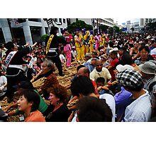 World's Largest Tug-of-War (Naha Festival 2007) Photographic Print