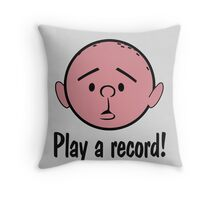 Karl Pilkington Throw Pillow
