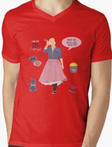 Rose Tyler Mens V-Neck T-Shirt