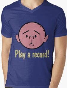 Karl Pilkington Mens V-Neck T-Shirt